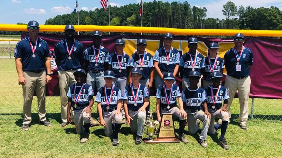 Fort Meade Youth Baseball Team Wins World Series