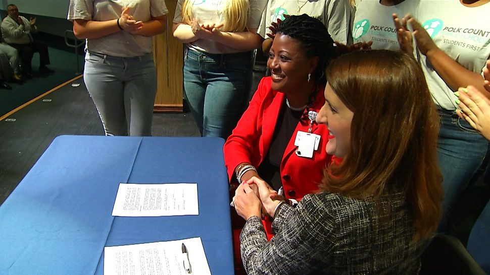 Polk County Schools and Polk State has kicked off its ELITE program, which allows high school students to earn their associate degrees. They will then be fast-tracked into Polk teaching programs.