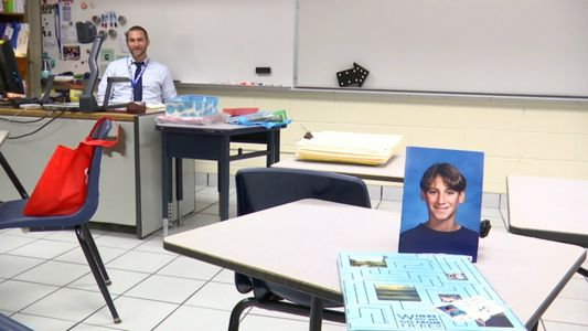 Man becomes principal of his middle school alma mater