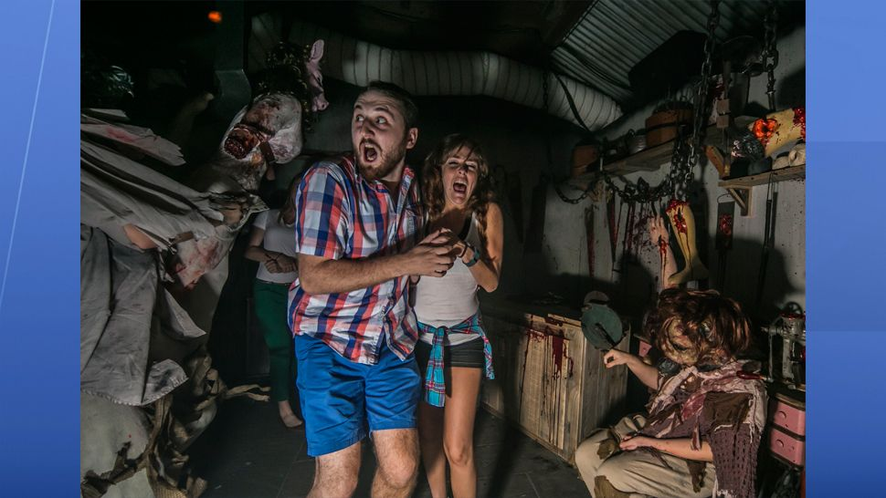 Fear returns to Tampa Bay for 19 menacing nights with new haunted houses , including a 17-and-older experience that takes screams to the extreme. (Busch Gardens)