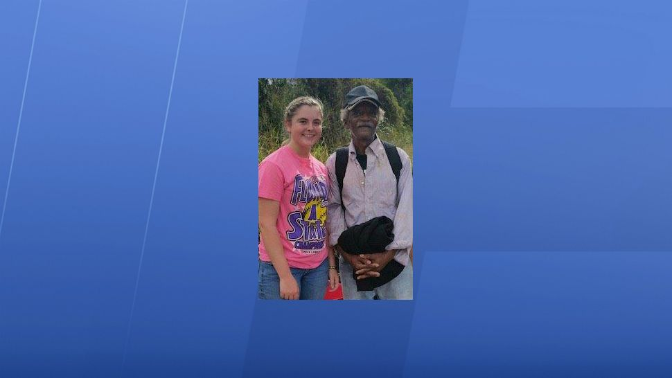 Lakeland college student Emily Cornelius is trying to raise money for Veteran Willie Dread's funeral. Cornelius met Dread, who was homeless at the time, while she was working on an eighth-grade class project. (Emily Cornelius)