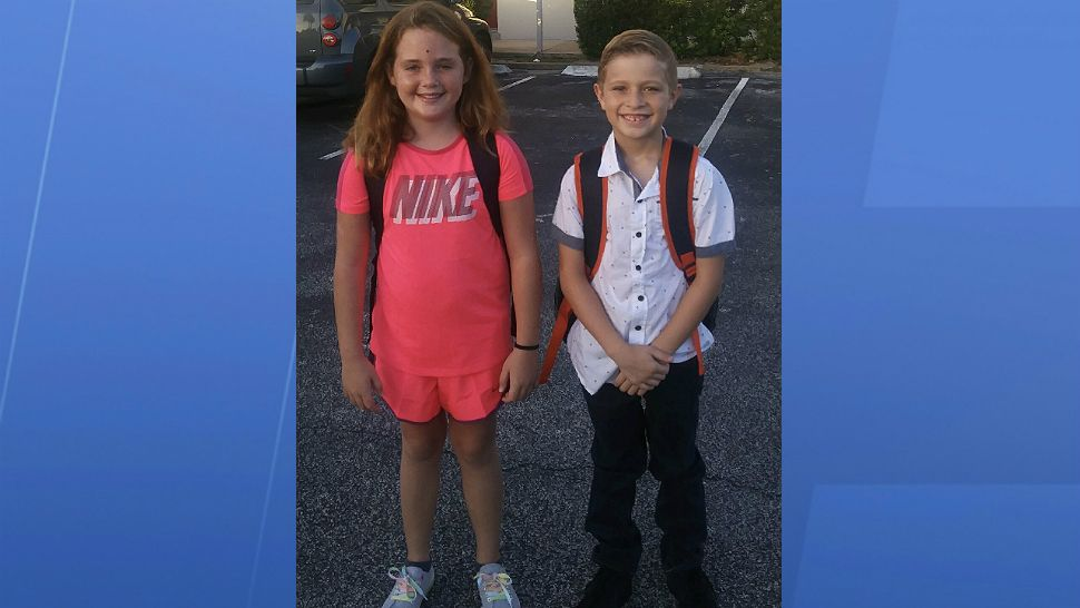 Sent to us via the Spectrum News 13 app: First day back to school in Rockledge.