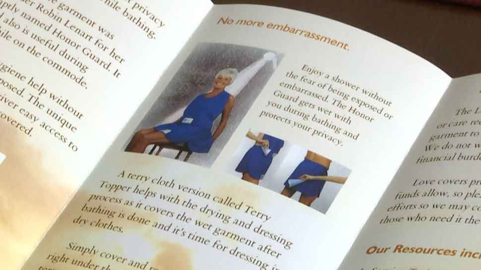 Brooksville Woman Invents Bathing Garment for Seniors