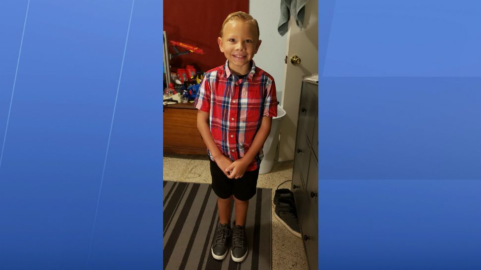 Sent to us with the Spectrum News 13 app: 1st day of 2nd grade for Kayden. (Josh Walter/viewer)