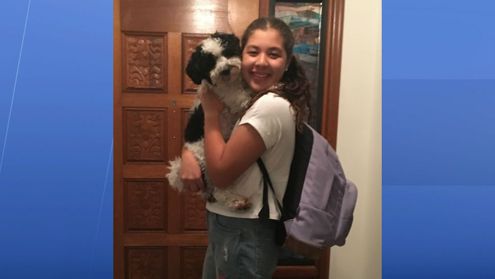 Ayano Leone is giving Max a quick hug goodbye as the 13 year old is off to Olympia High School as a freshman this year. (Photo courtesy of Chizuko Leone, viewer)
