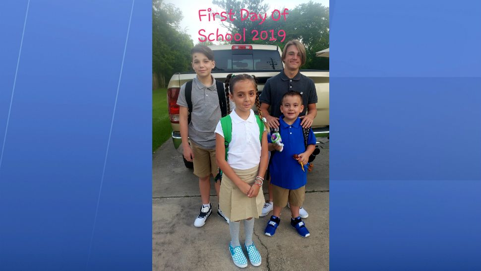 Sent to us with the Spectrum News 13 app: 1st day of school. (Brittany S./viewer)