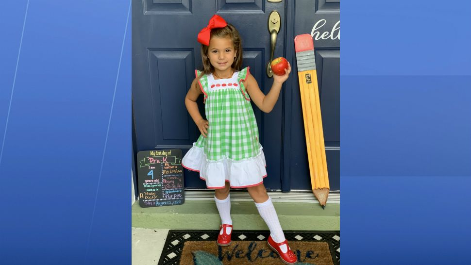 Sent to us with the Spectrum News 13 app: She's ready for VPK! (Kelly/viewer)