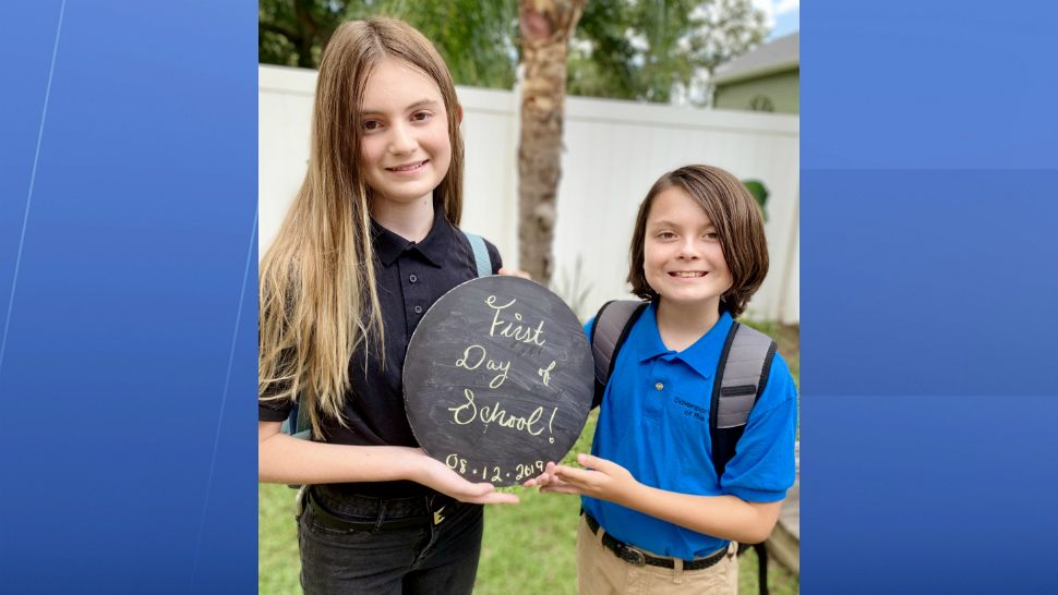 Sent to us with the Spectrum News 13 app: High school and middle school bound in Polk and Osceola counties! (Crystal Folk/viewer)