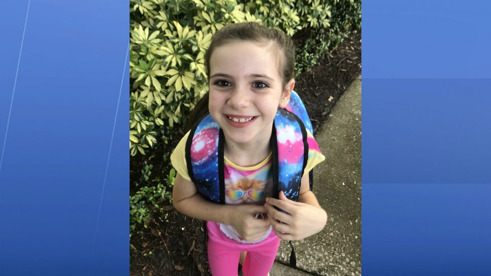 Sent to us with the Spectrum News 13 app: Rowana's 1st day of 1st grade in Orlando. (Cindy Wilson/viewer)