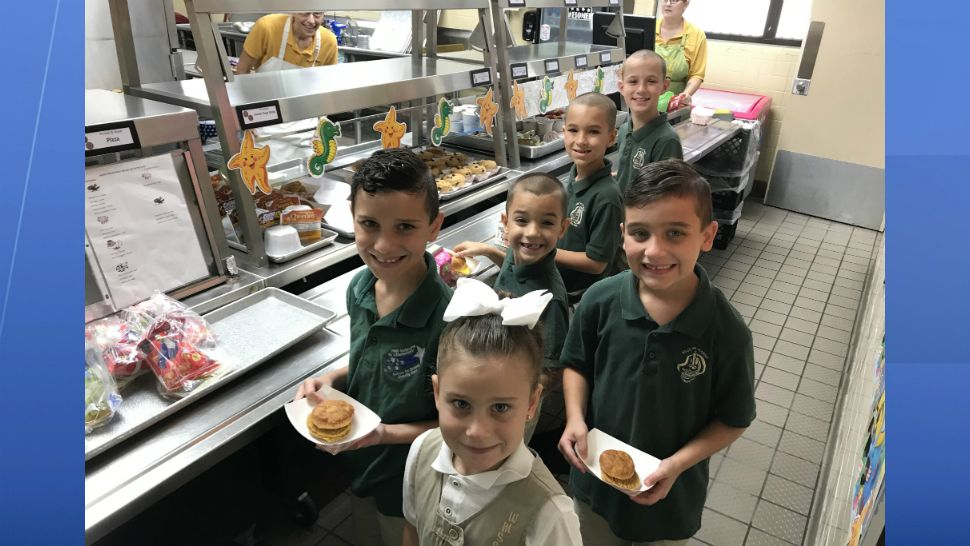 Sent to us with the Spectrum News 13 app: Students enjoy brunch at West Melbourne School for Science. (Toni-Marie/viewer)