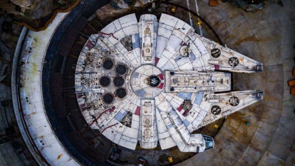 Disney World Shares Aerial View of Star Wars: Galaxy's Edge