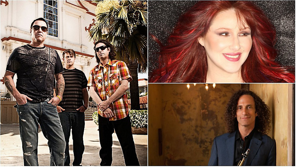 Smash Mouth, Tiffany and Kenny G are some of the musical acts set to perform during this year's Eat to the Beat concert series. (Disney)