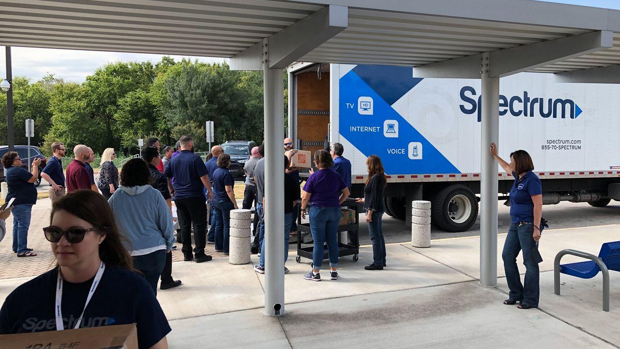 Spectrum Donates Truckload of Supplies to Austin Elementary School