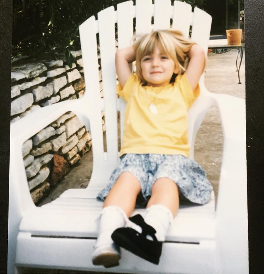 Spectrum News digital producer Claire Ricke says she has been too cool for school since she was 5 years old in this photo after her first day of kindergarten.