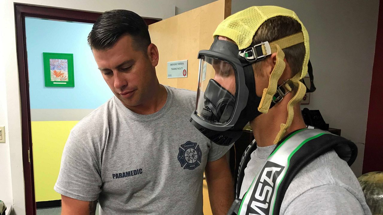 Titusville Firefighters Breathing Easier with Newly Funded Air Packs