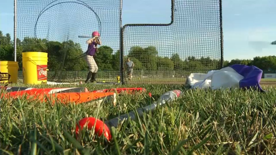 Mini-Field of Dreams for Buffalo Ball Players