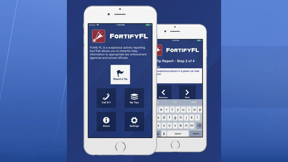 Fortify Florida: App Lets Students Report Suspicious Activity