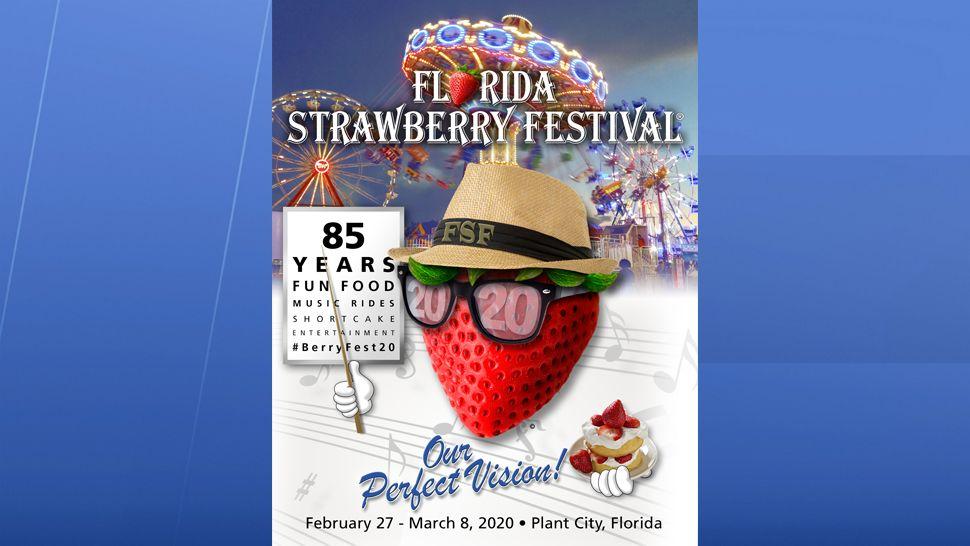 Plant City Fl Strawberry Festival 2020 Florida Strawberry Fest Announces New Theme for 2020 Event
