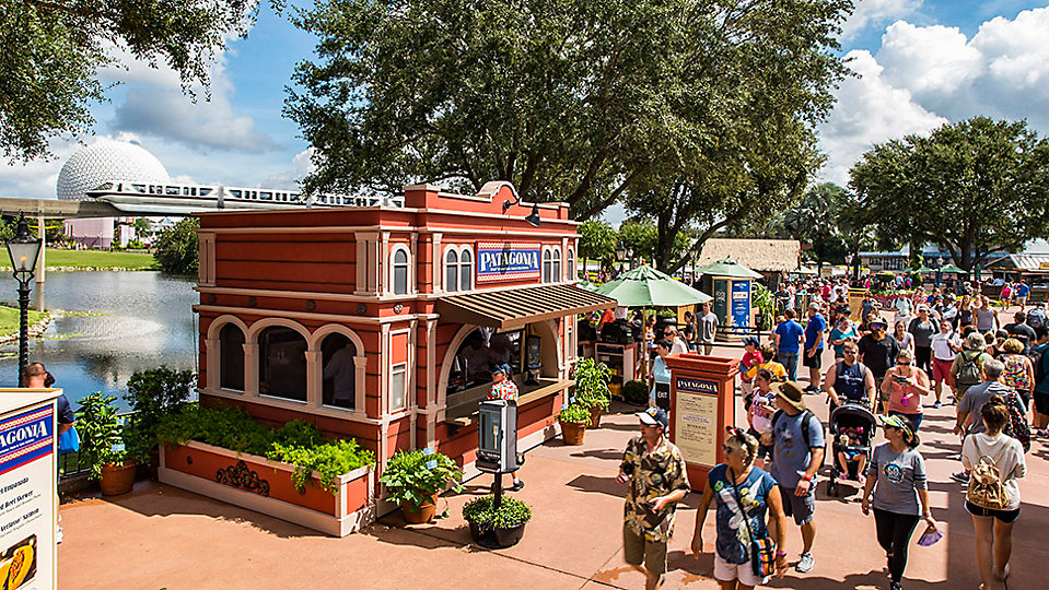 The Epcot International Food and Wine Festival. (Disney)