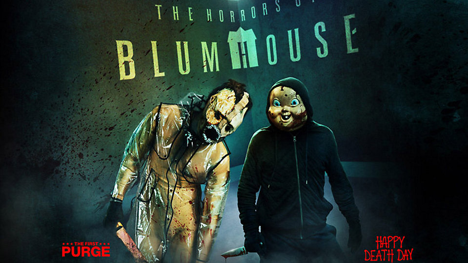 """The Horrors of Blumhouse"" house announced for 2018's Halloween Horror Nights at Universal Orlando. (Universal)"