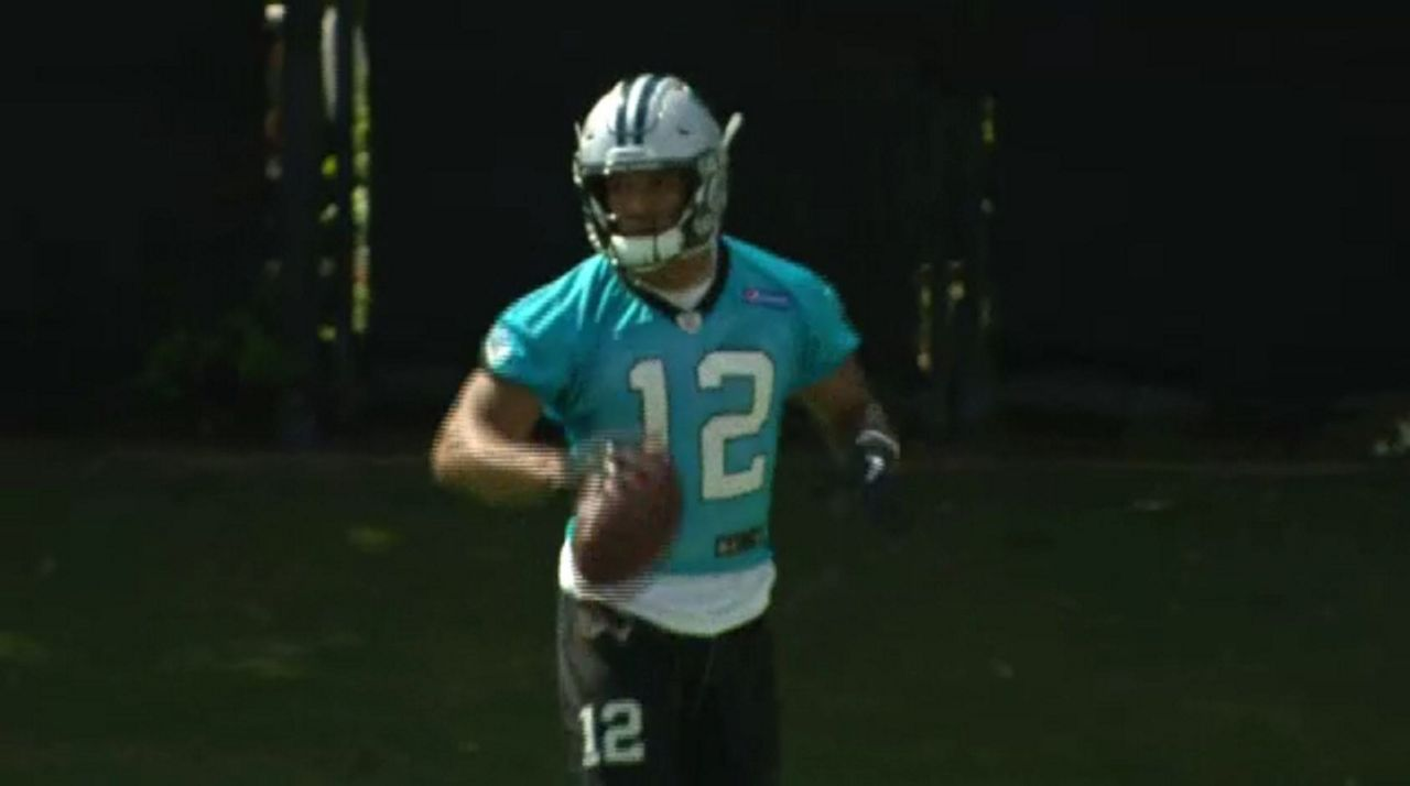 save off 41213 eb902 Panthers rookie cited for going 113 mph on I-77