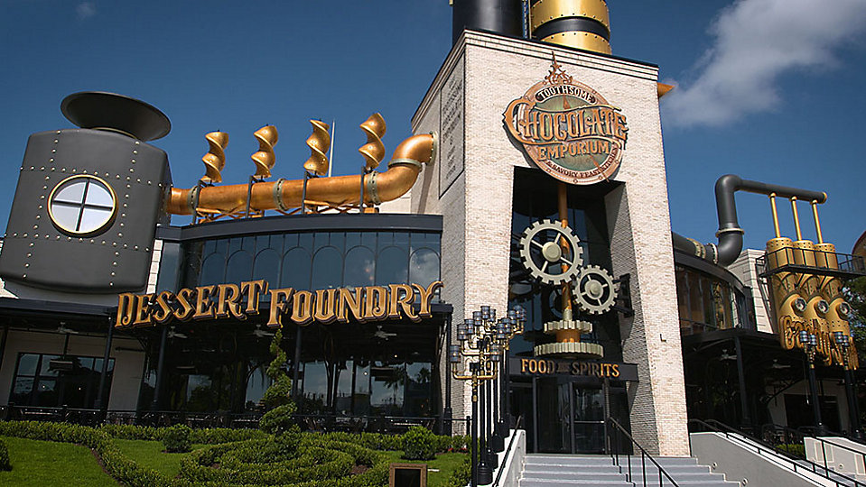 Toothsome Chocolate Emporium & Savory Feast Kitchen at Universal Citywalk. (Universal)
