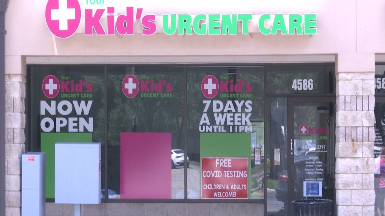 Urgent Care Clinic Offering Free Covid 19 Testing To Kids