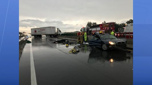 FHP: Car causes chain of crashes on I-75 after spinning out