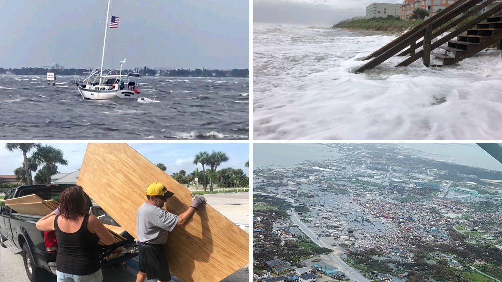 LIVE UPDATES: Waves From Dorian Pound Daytona Beach Shore