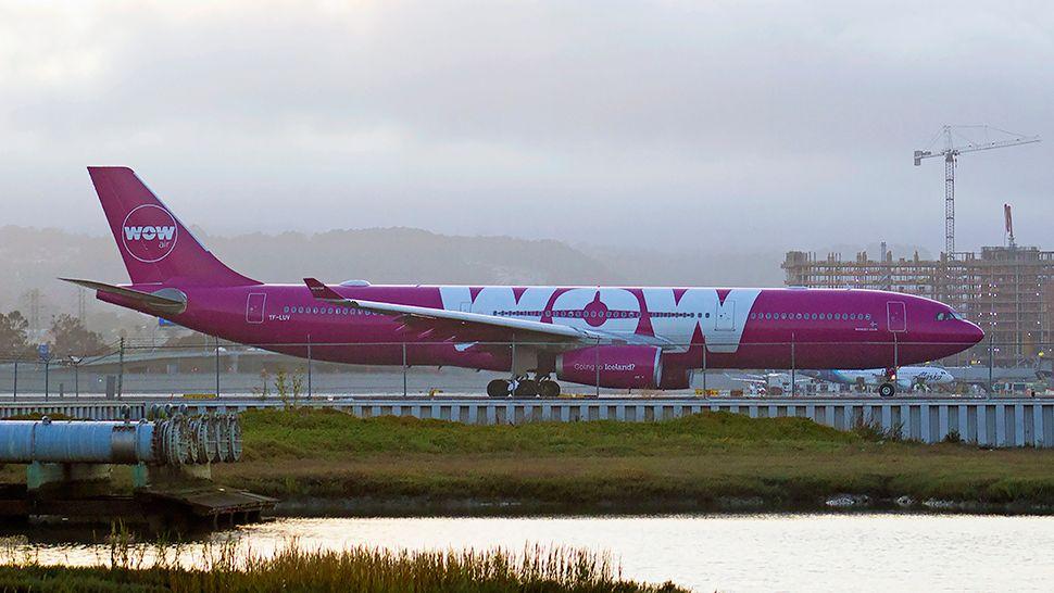 WOW air is promoting $149 one-way fares for a variety of flights from Orlando to London, Frankfurt, Edinburgh, Dublin, Paris, Copenhagen, Stockholm, Brussels, Berlin, and Amsterdam. (Greg Angel, staff)