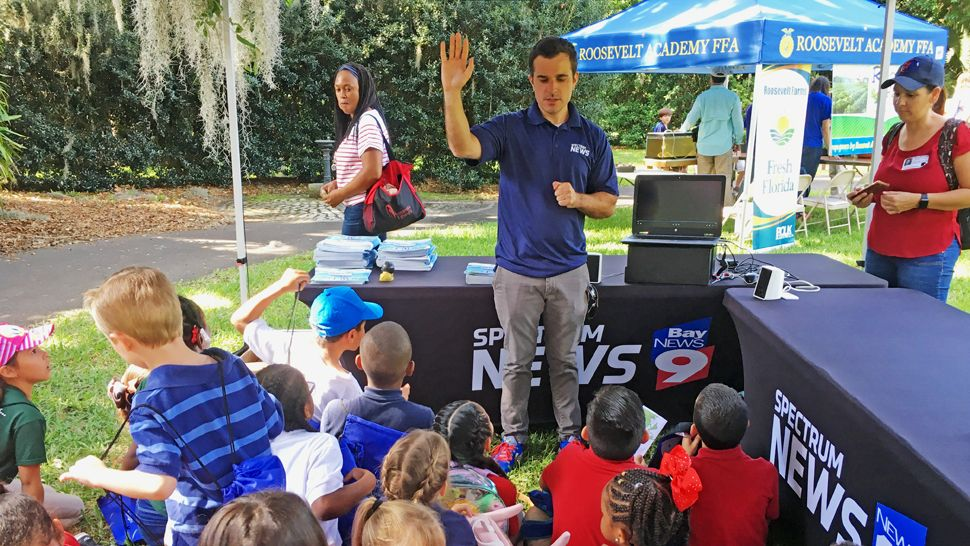 Question Time With Chris Gilson at Bok Tower Earth Day