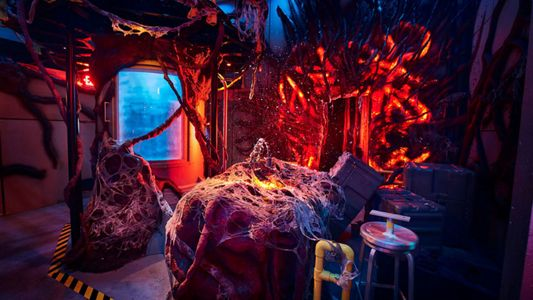 A sneak peek inside the Stranger Things house coming to Universal's Halloween Horror Nights.