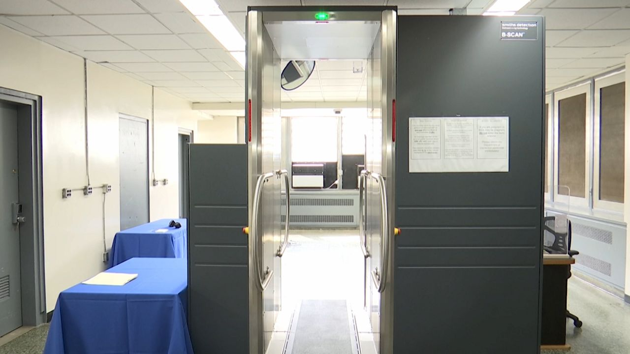 Rikers Island's New Scanners Give a Glimpse Inside an Inmate