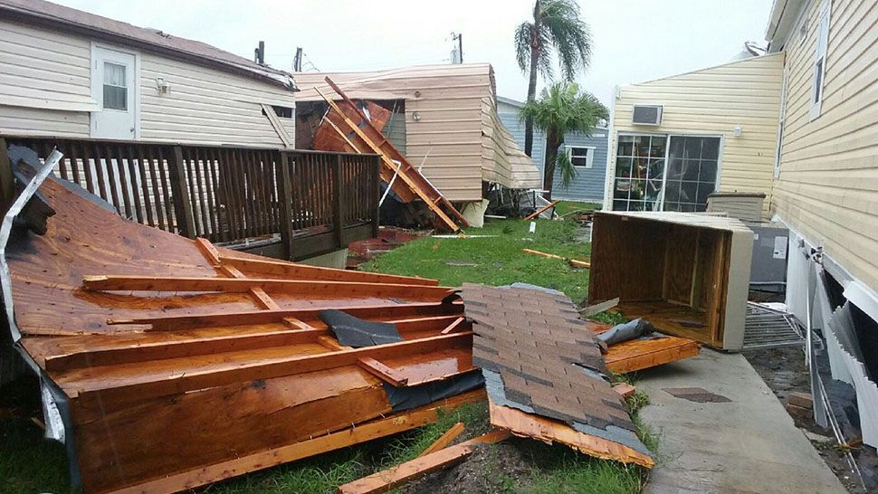 Mobile home park damaged by tornado returning to normalcy