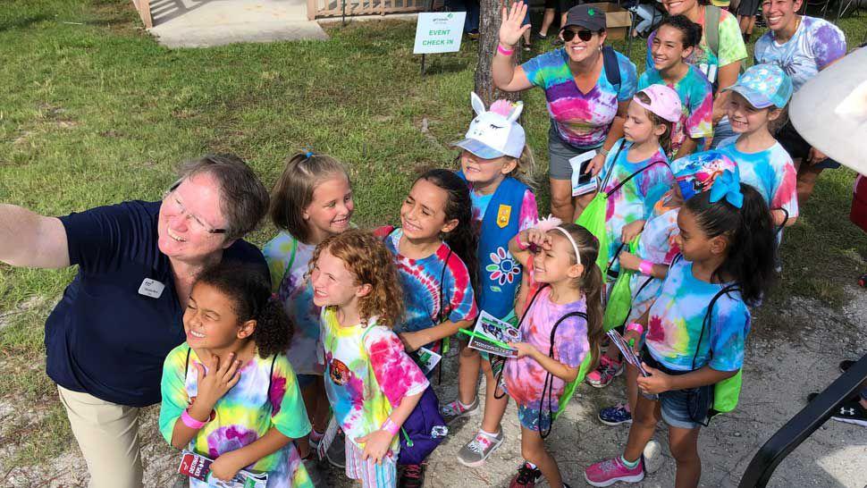 Girl Scouts of Citrus Celebrate Return to Mah-Kah-Wee Camp Site