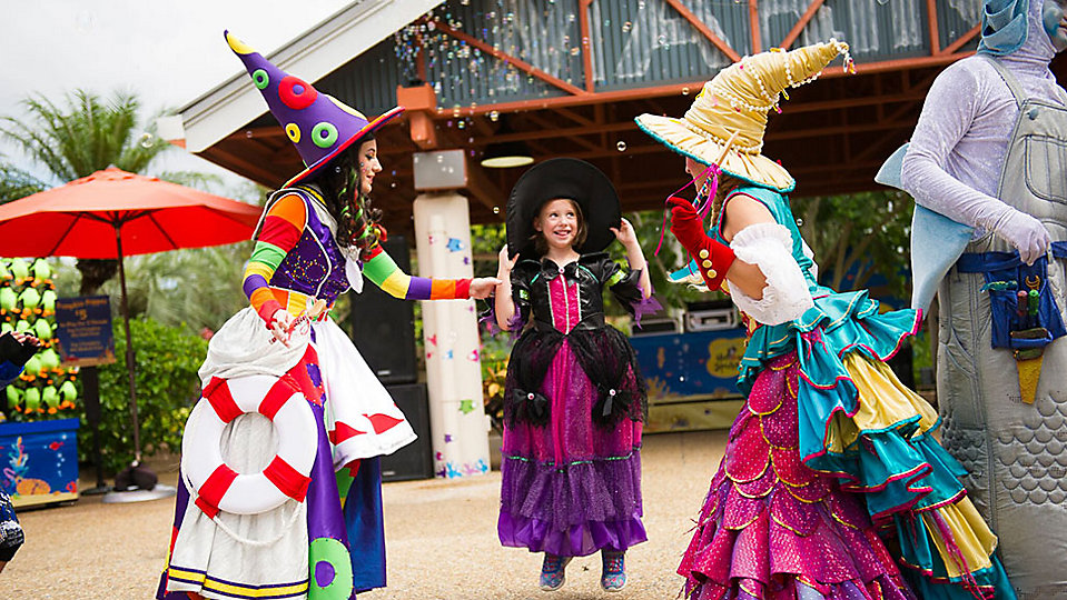 SeaWorld Orlando's Halloween Spooktacular returns later this month. (SeaWorld)