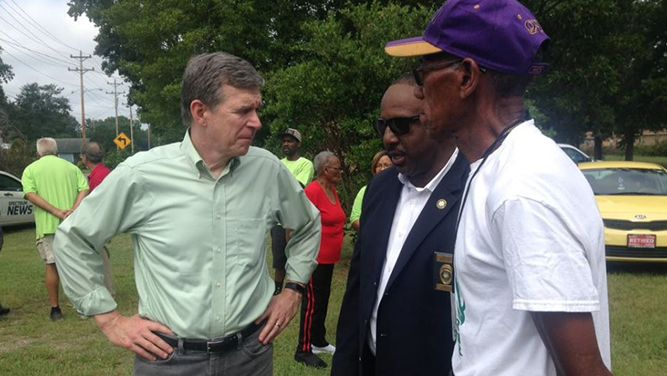 Governor Cooper Remembers One Year Anniversary of Hurricane Florence in Lumberton