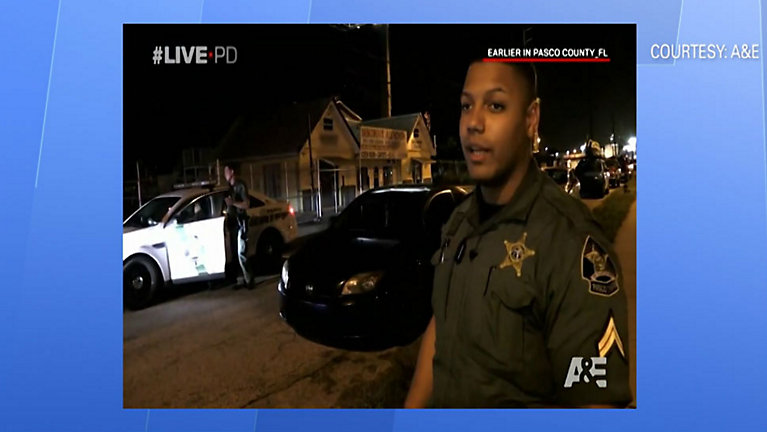 Steven Walker, a deputy with the Pasco County Sheriff's Office, was arrested Saturday on DUI charges. (LivePD)