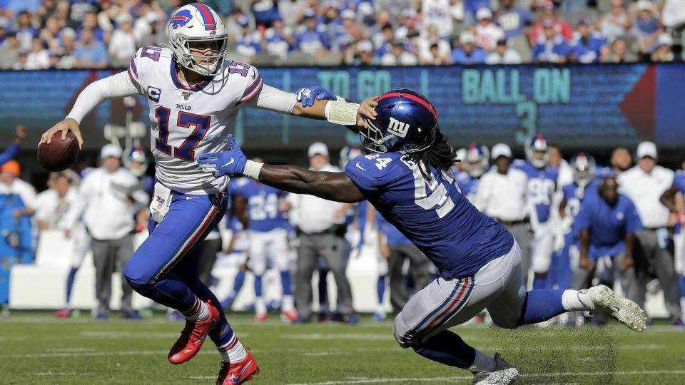 Strong Start Suggests Turnaround for Bills Offensive Line