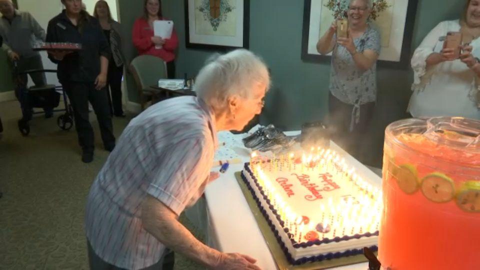 Greece Woman Celebrates 103rd Birthday