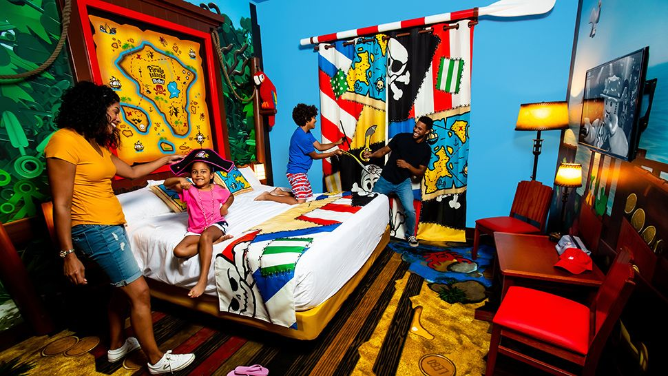 Legoland Florida Sets Opening Date for Pirate Hotel