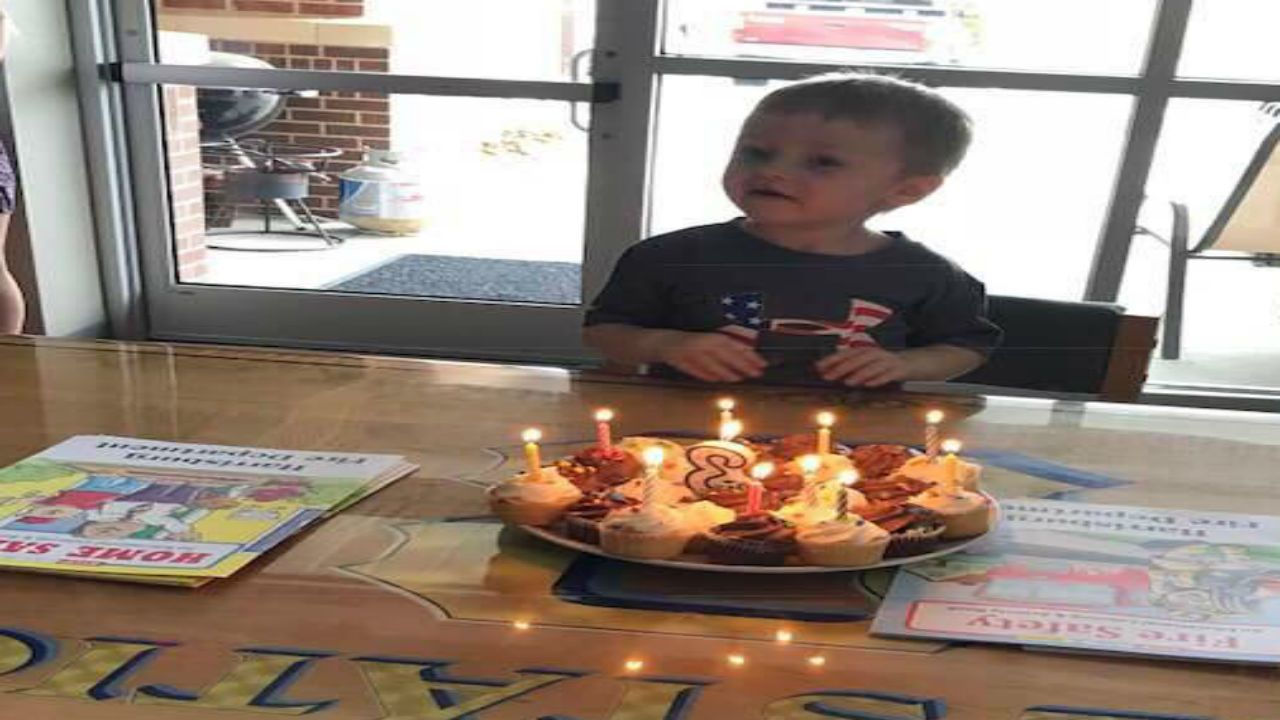Harrisburg Firefighters Pull Together Birthday Surprise