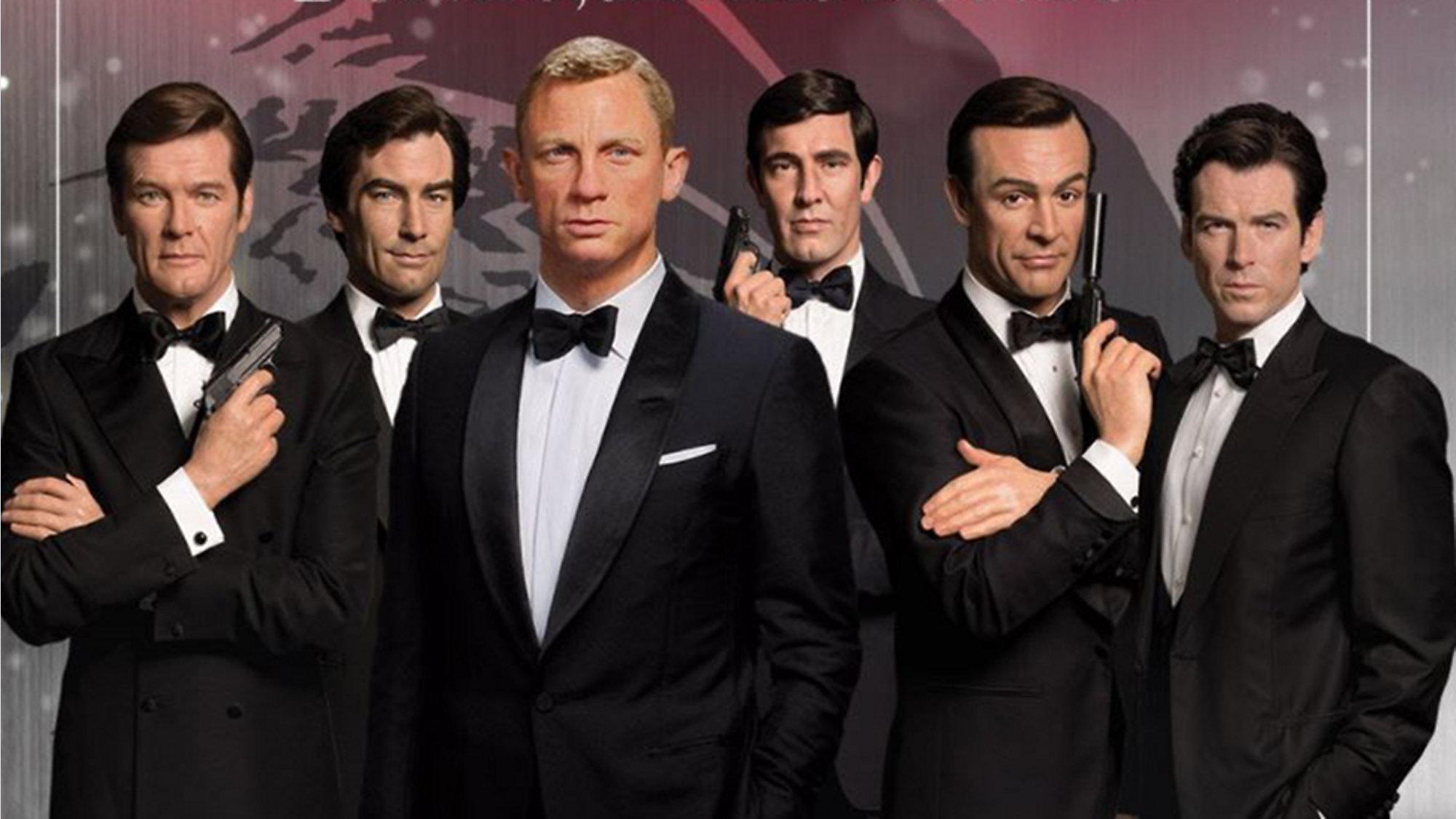 Madame Tussauds Orlando To Unveil James Bond Wax Figures