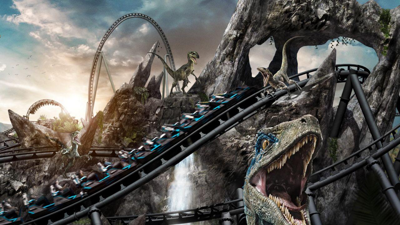 Universal Orlando Announces Jurassic World VelociCoaster