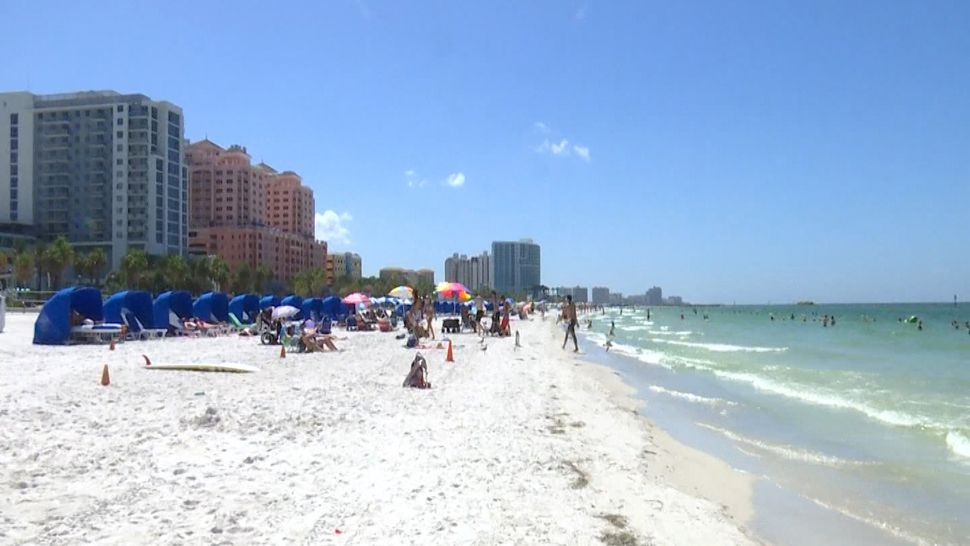 Organizers Clearwater Beach Clear Of Red Tide For Races