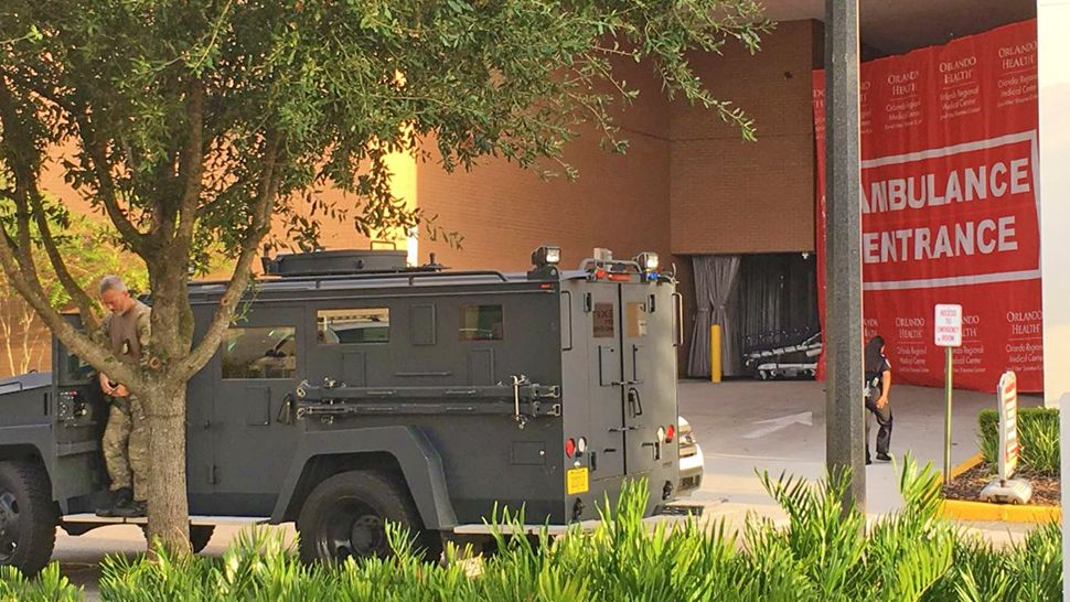 "The Orlando Regional Medical Center was placed on lockdown after a man who claimed to have had a gun said he was a suspect in a homicide case and that he was going to end ""right here, right now,"" said police. (Orlando Police Department)"