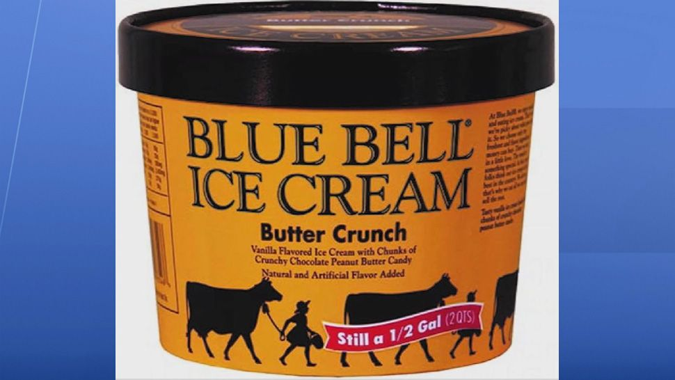 Recall: Blue Bell Ice Cream Flavor Over Plastic Concerns