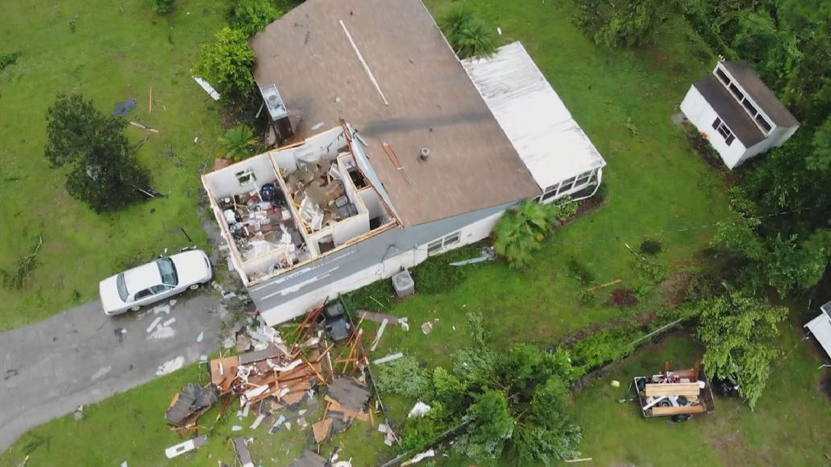Recovery Begins After Tornado Damages Homes, Buildings in Polk County