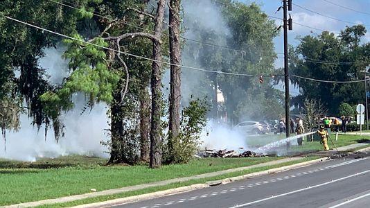 Police Id 2 Dead In Small Plane Crash Near I 75 In Ocala