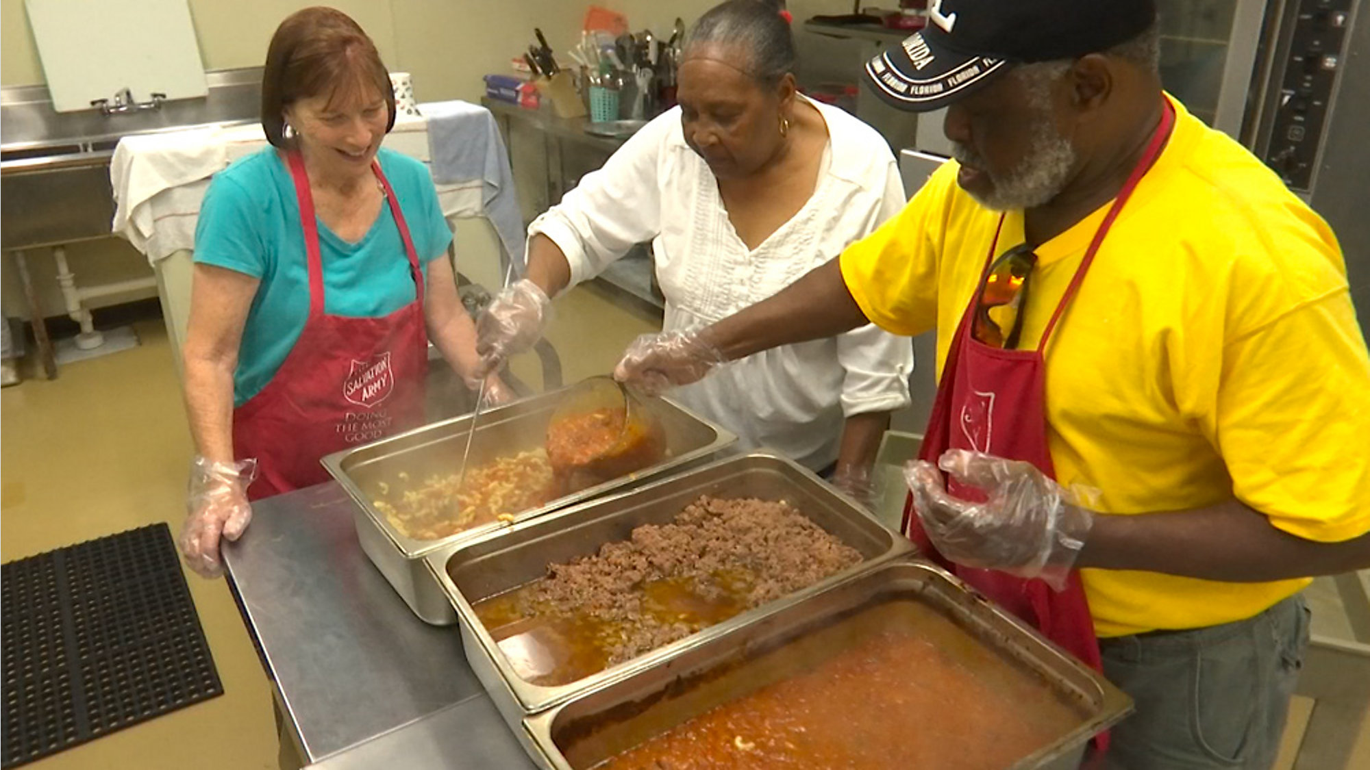 North Brevard Salvation Army Low On Soup Kitchen Supplies